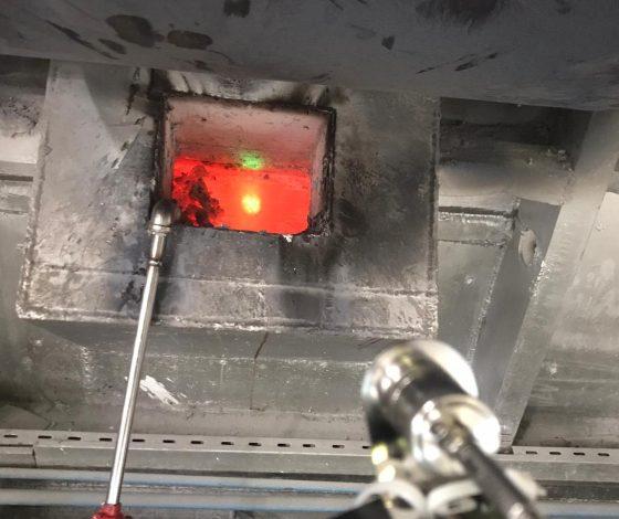 aluminyum_döküm_eriyik_optris_ctratio_sıcaklık_ölçümü